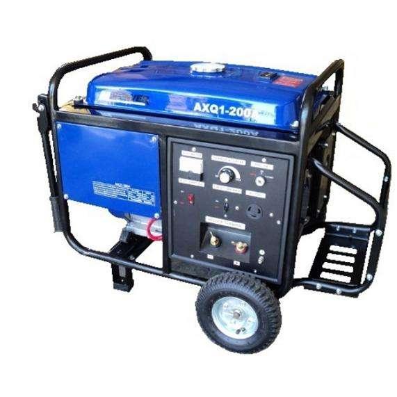 Soldadora Generador Planta Luz 200amp Mpower