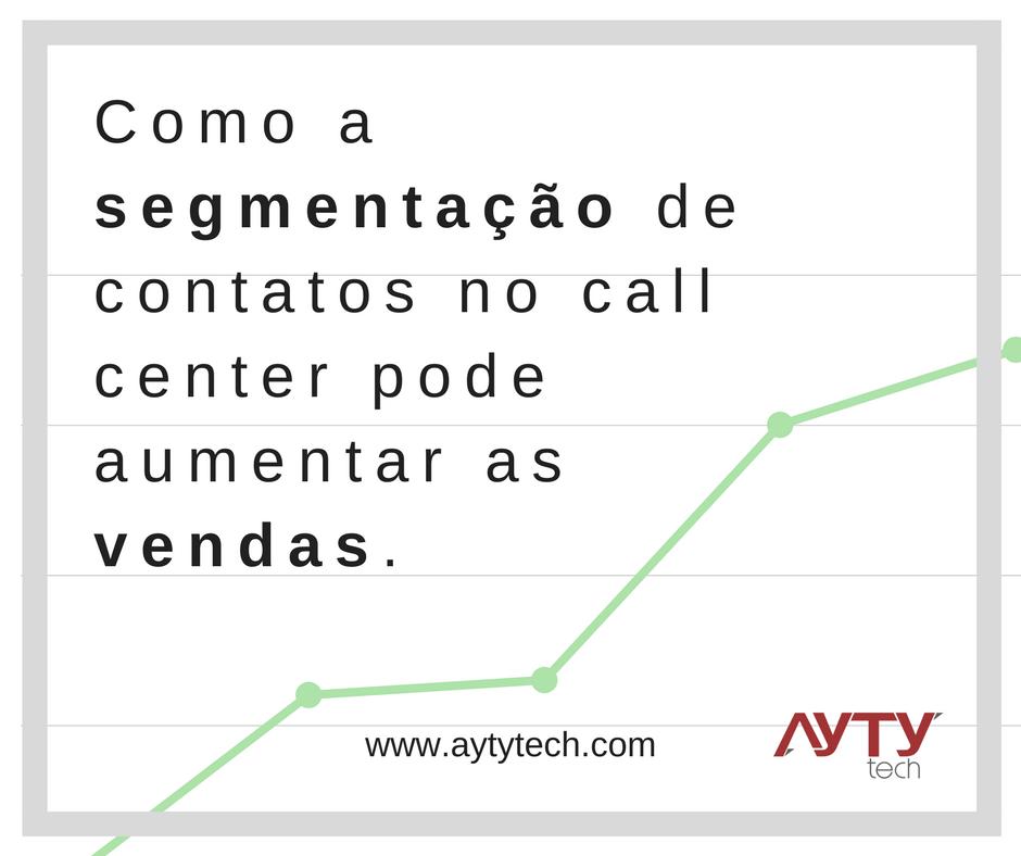 Segmentação de contatos no Call Center