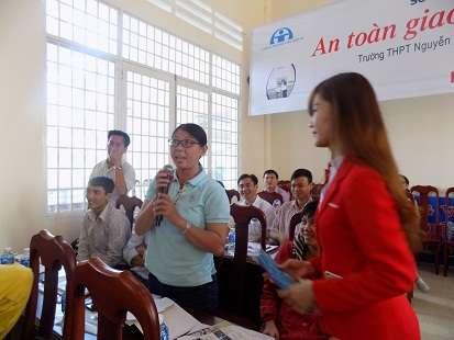 phát biểu giáo viên trong chương trình của HEAD Angimex