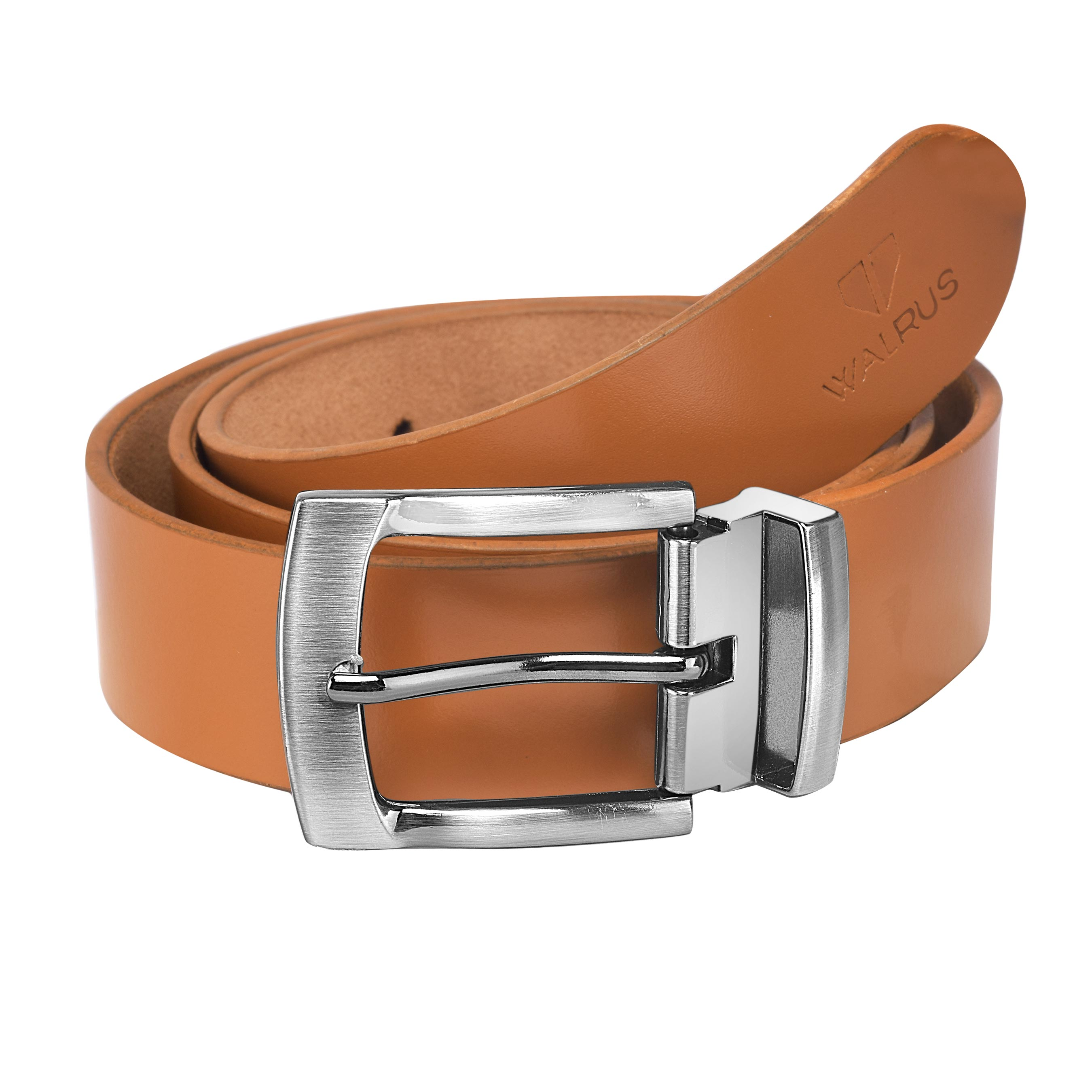 Walrus Diplomat Tan Color Free Size Men Leather Belt
