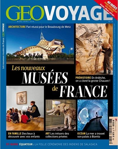 Géo Voyage France 18 - Mars/Avril 2014