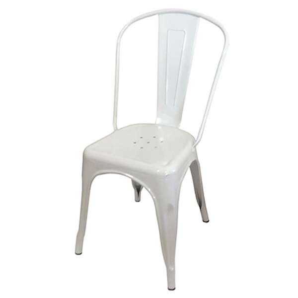 Sedia design tolix sedie vintage lamiera metallo stile for Sedie design industriale