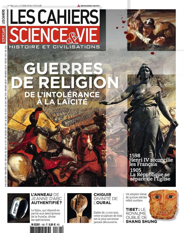 Les Cahiers de Science & Vie 162 - Juillet 2016