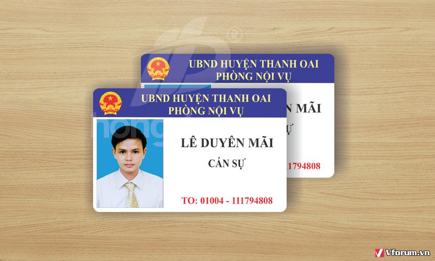 Địa chỉ in thẻ nhựa giá rẻ nhất tại Hà Nội