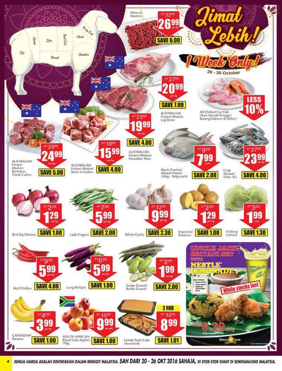 Giant Catalogue (20 October - 2 November 2016)