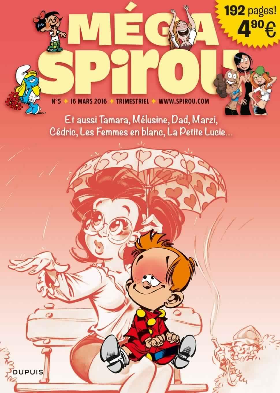 Méga Spirou 5 - Mars 2016