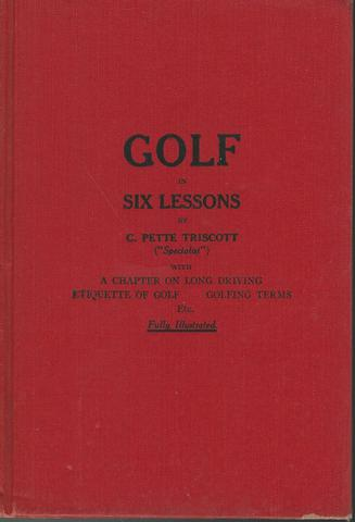 Golf in Six Lessons, Triscott, C. Pette