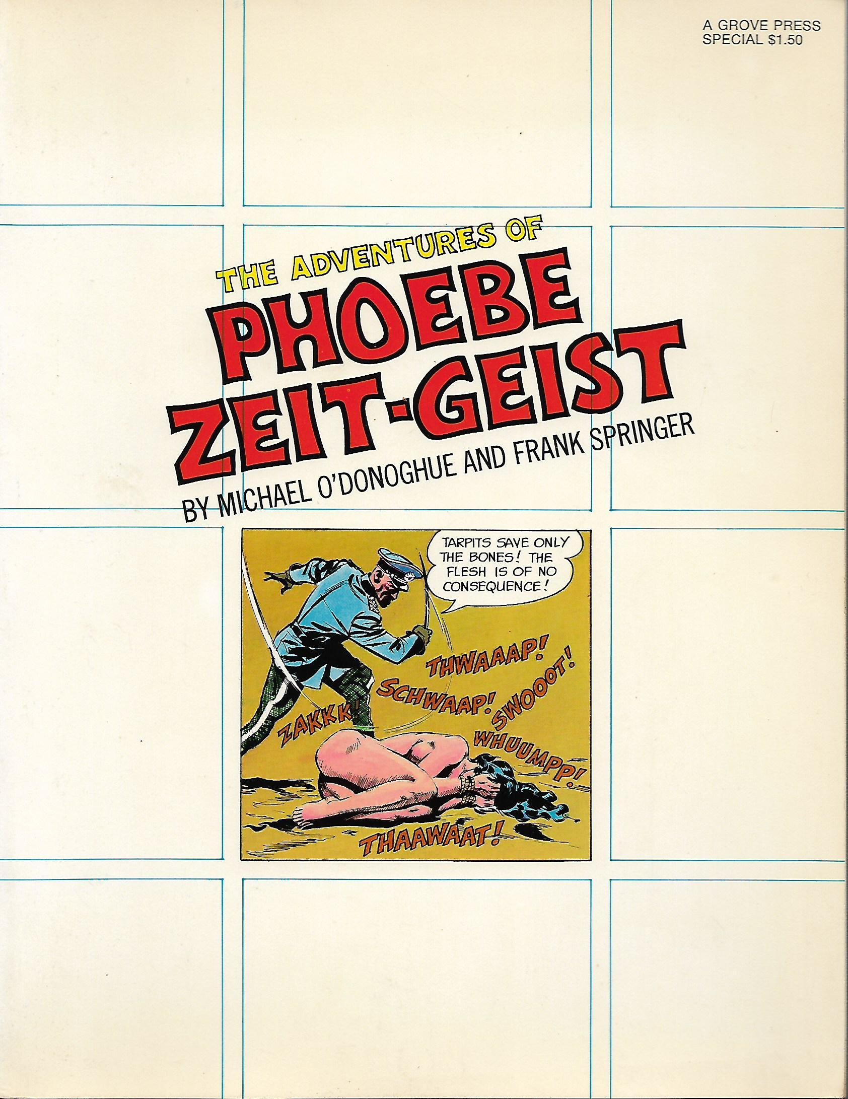 The Adventures of Phoebe Zeit-Geist, O'Donoghue, Michael; Springer, Frank; Thorne, Frank (introduction)