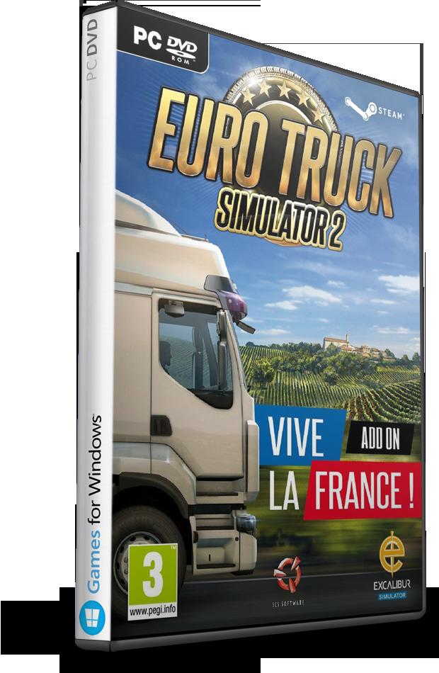pc euro truck simulator 2 vive la france skidrow. Black Bedroom Furniture Sets. Home Design Ideas