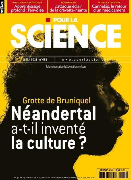 Pour la Science 465 - Juillet 2016