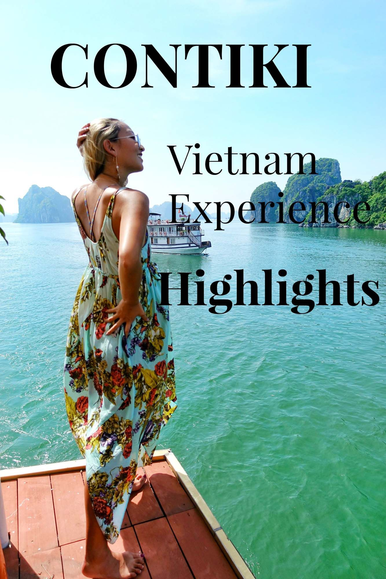Contiki Vietnam Experience Highlights, Halong Bay