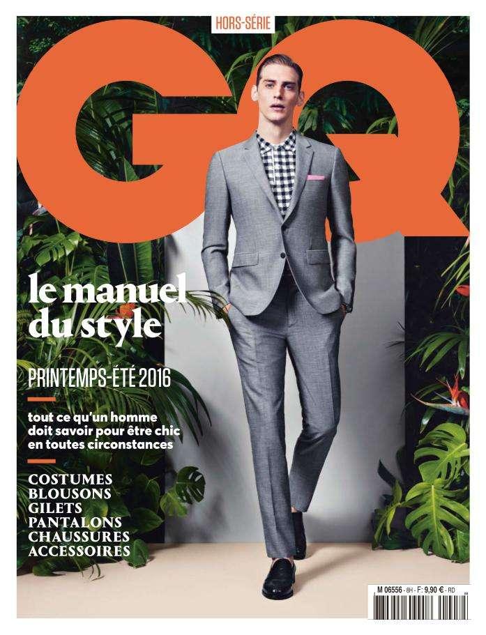 GQ Les Essentiels du Style Hors-Série - Printemps-Été 2016