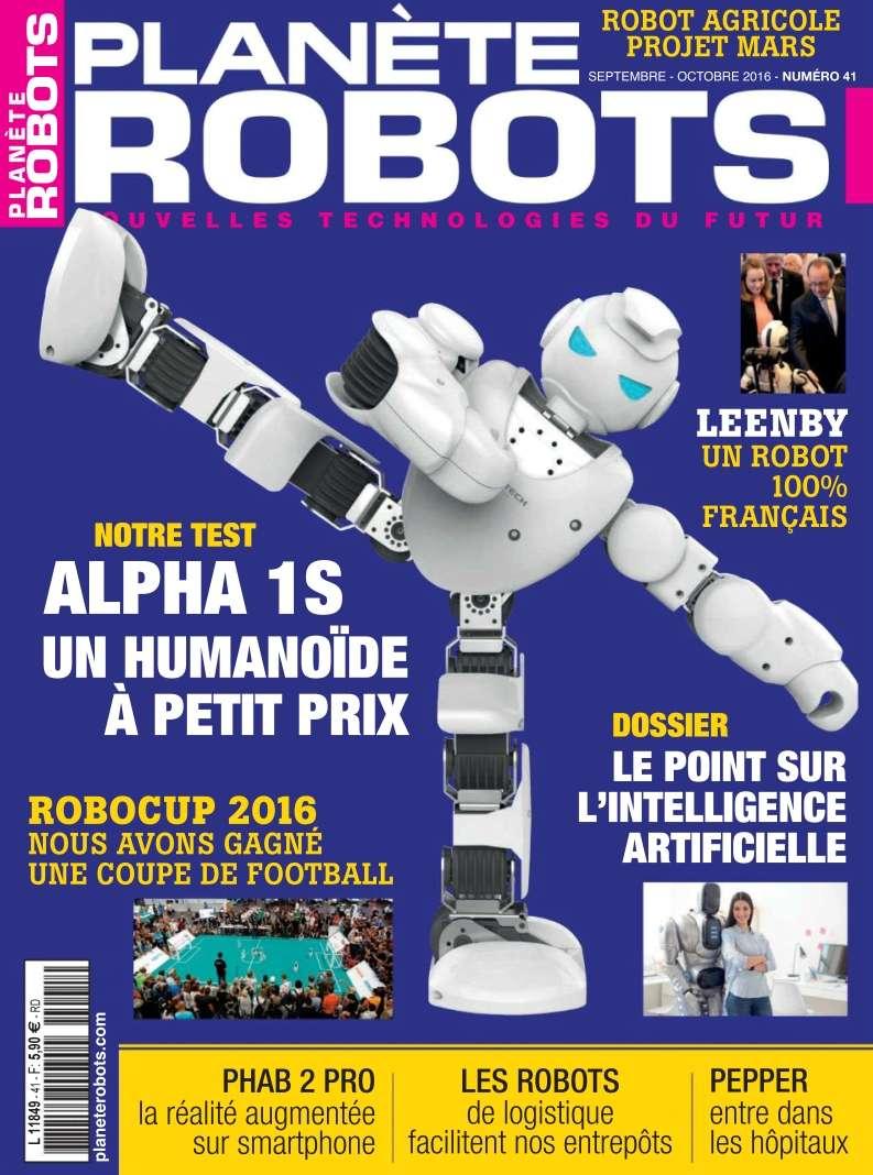 Planète Robots - Septembre/Octobre 2016