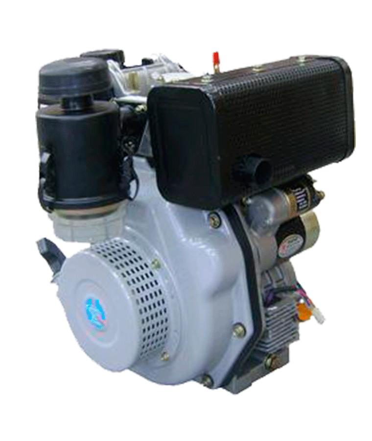 Motor A Diesel Mpower 6 Hp con Marcha Flecha Cuñero
