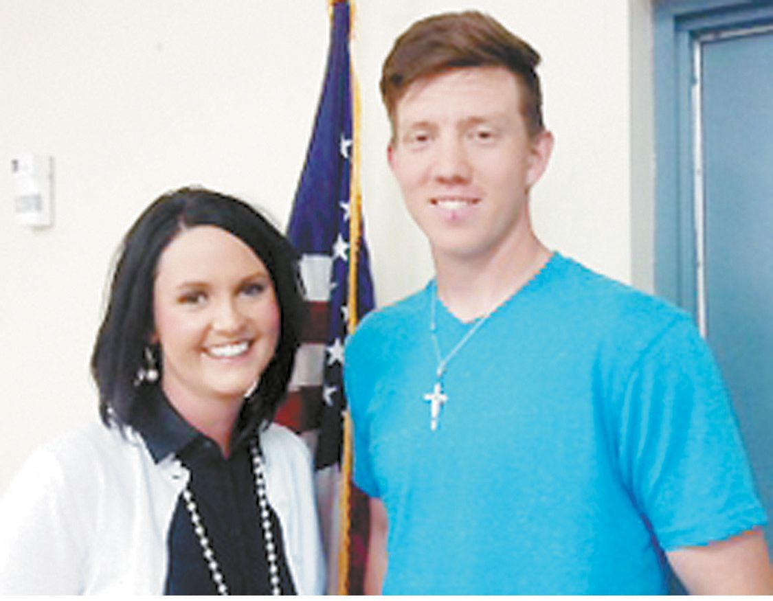 CHS April Student of the Month Honored