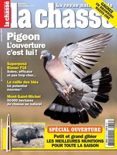 La Revue Nationale de la Chasse - Septembre 2016