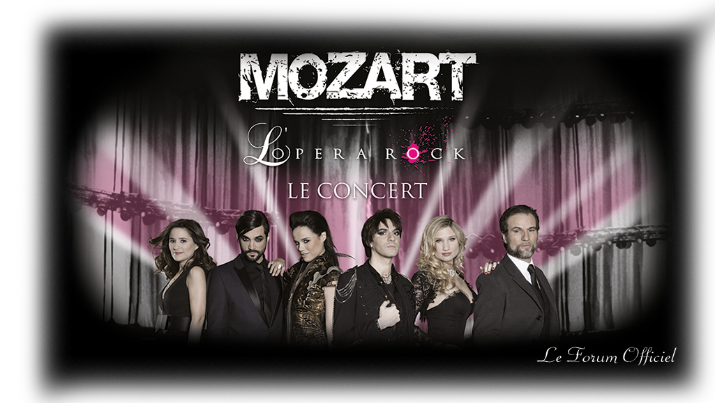 Mozart l'Opéra Rock, le Forum officiel