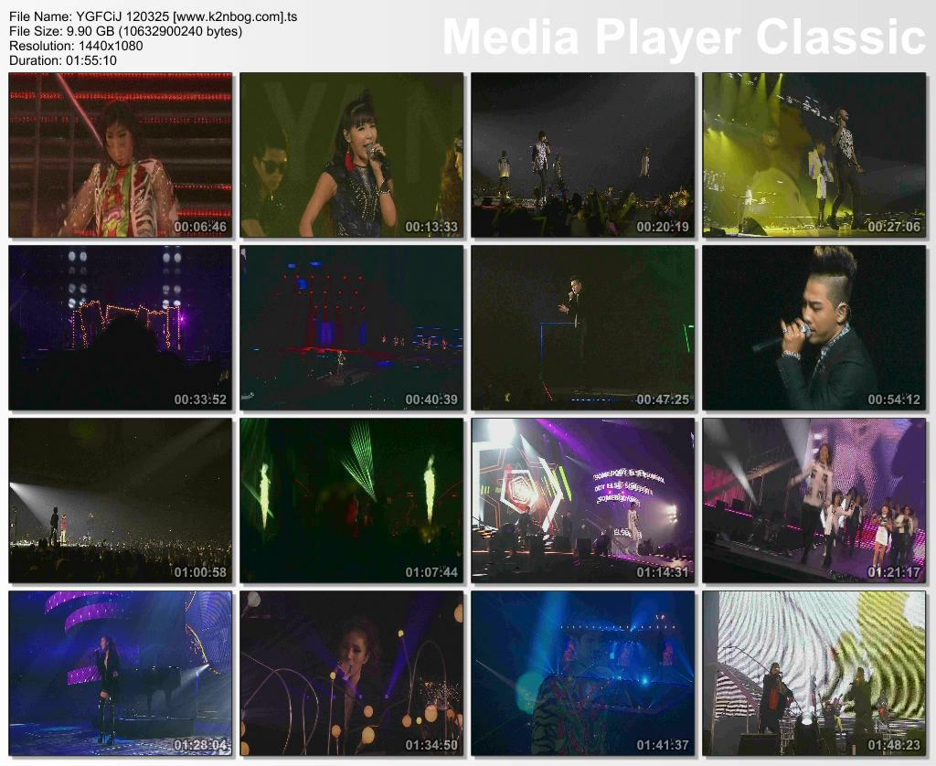 Download Konser BIGBANG & YG Family Concert in Japan on TBS