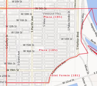 Plaza Area, San Pedro, CA  90731