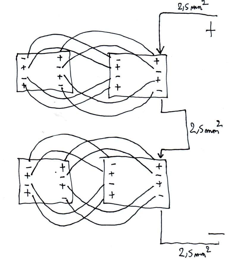 fabriquer une batterie lipo de 30v pour un geencity madrid