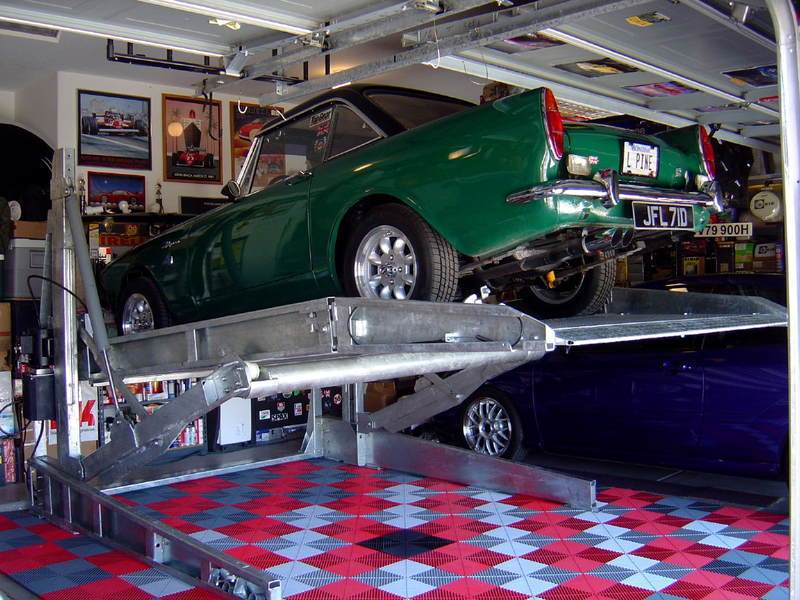 Acls Low Ceiling Car Lift The Garage Journal Board