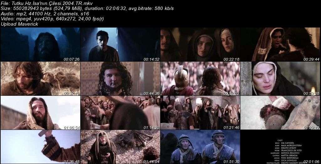 Tutku: Hz. İsa'nın Çilesi - The Passion of the Christ - 2004 Türkçe Dublaj MKV indir