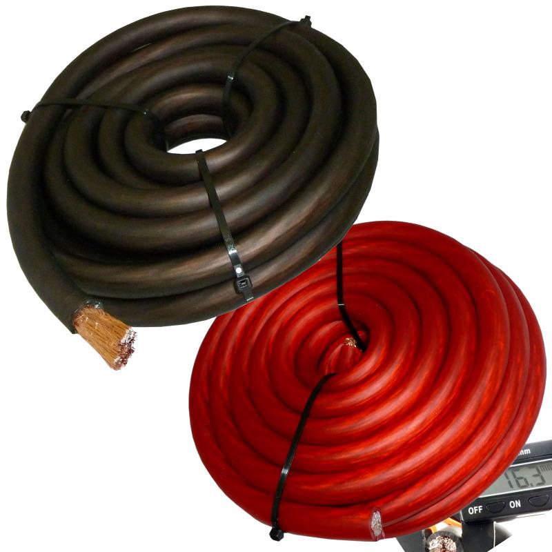 0 Gauge Speaker Wire : Ft gauge primary speaker wire amp power ground car