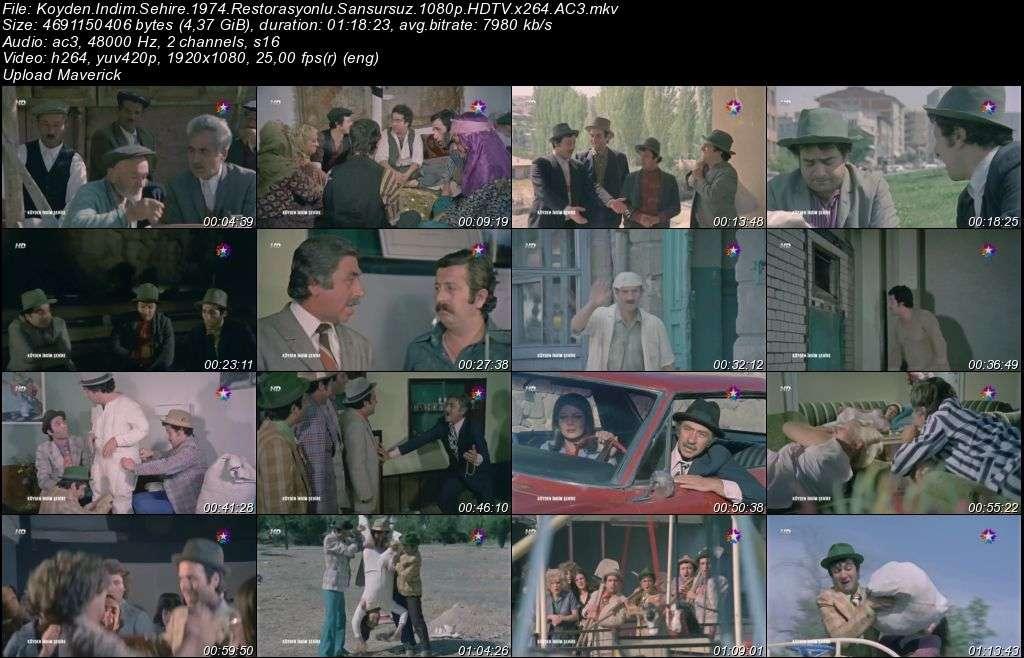 Köyden İndim Şehire - 1974 Restorasyonlu Versiyon 1080p HDTV Sansürsüz x264 AC3 indir