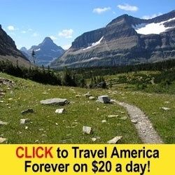 Travel on just $20 A DAY!