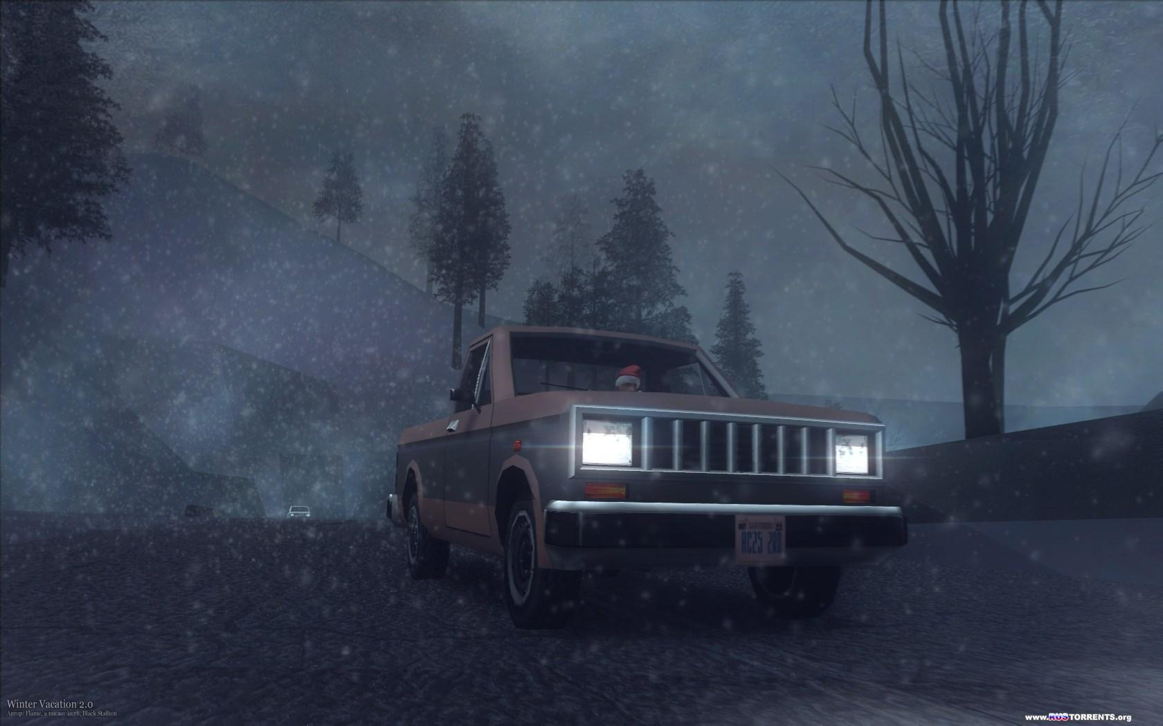Grand Theft Auto: Snow Andreas Edition (2005-2013) | RePack от Alpine