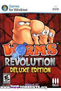 Worms Revolution - Deluxe Edition [v 1.0.140 + 6 DLC] | RePack от Fenixx