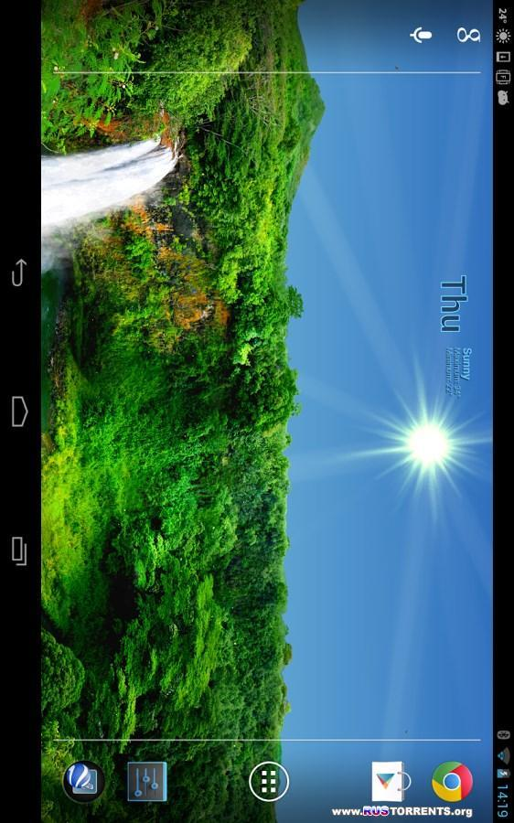 True Weather Waterfalls v6.01 | Android