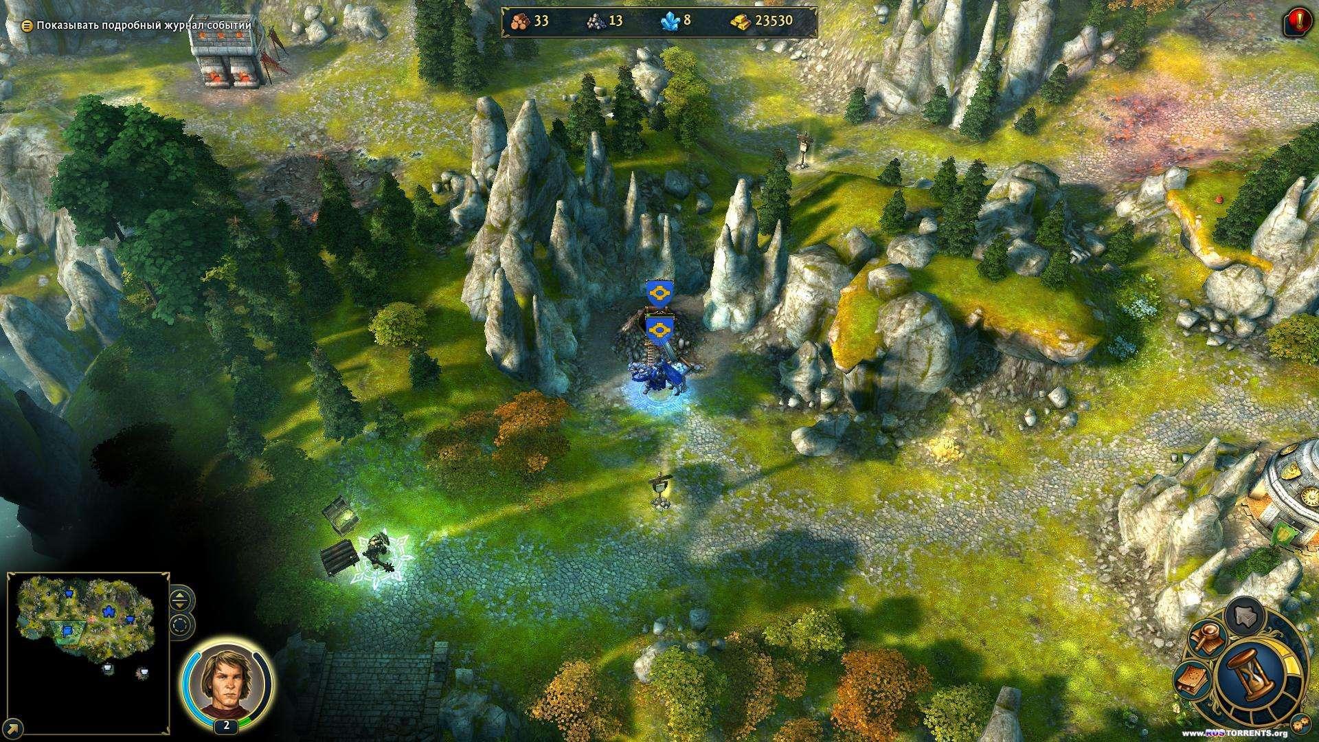 Герои Меча и Магии 6. Золотое издание [v 2.1.0 + 3 DLC] | RePack от R.G. Catalyst