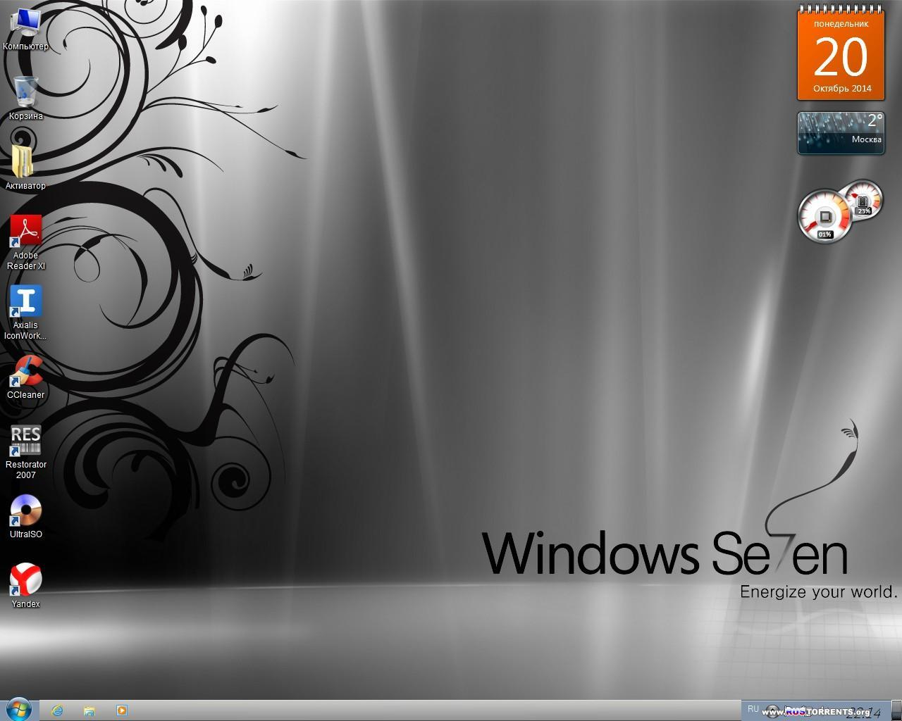 Windows 7 Ultimate SP1 �86/�64 Full Office 2013 by Doom v.1.21 RUS