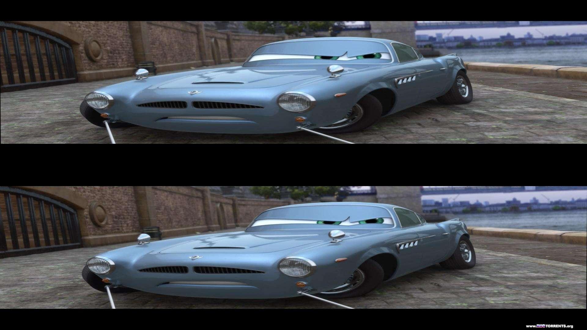 Тачки 2   BDRip 1080p   3D-Video