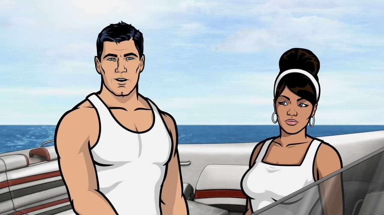 Спецагент Арчер [S05] | WEB-DL 720p | Кубик в Кубе & БЯКО Рекордс