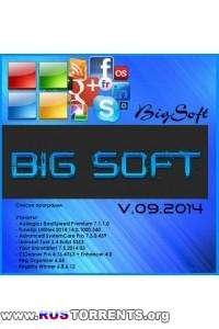 BIG SOFT 09.2014 (х86/х64) Rus