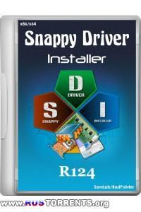 Snappy Driver Installer R124 x86/x64 by BadPointer ML/RUS | РС