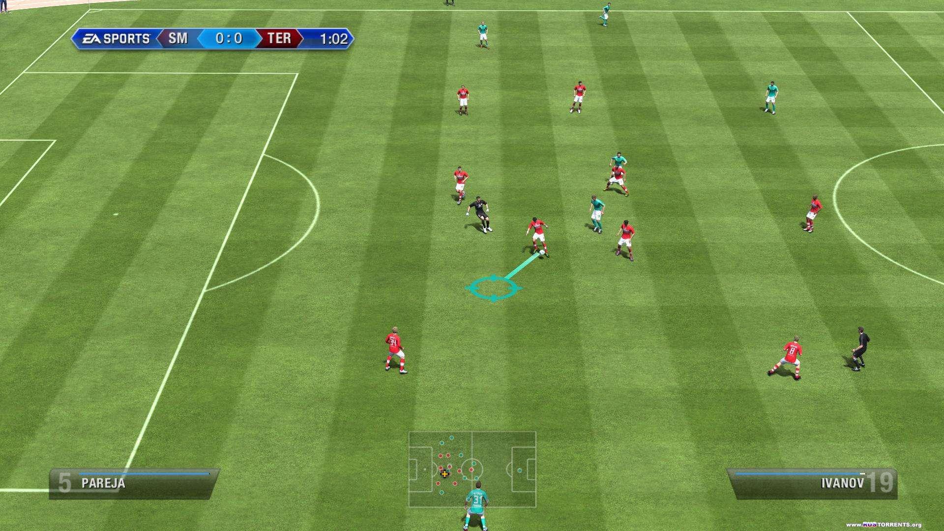 FIFA 13.v 1.7.0.0 + 1 DLC (1С-СофтКлаб) (RUS) | [Repack] от Fenixx