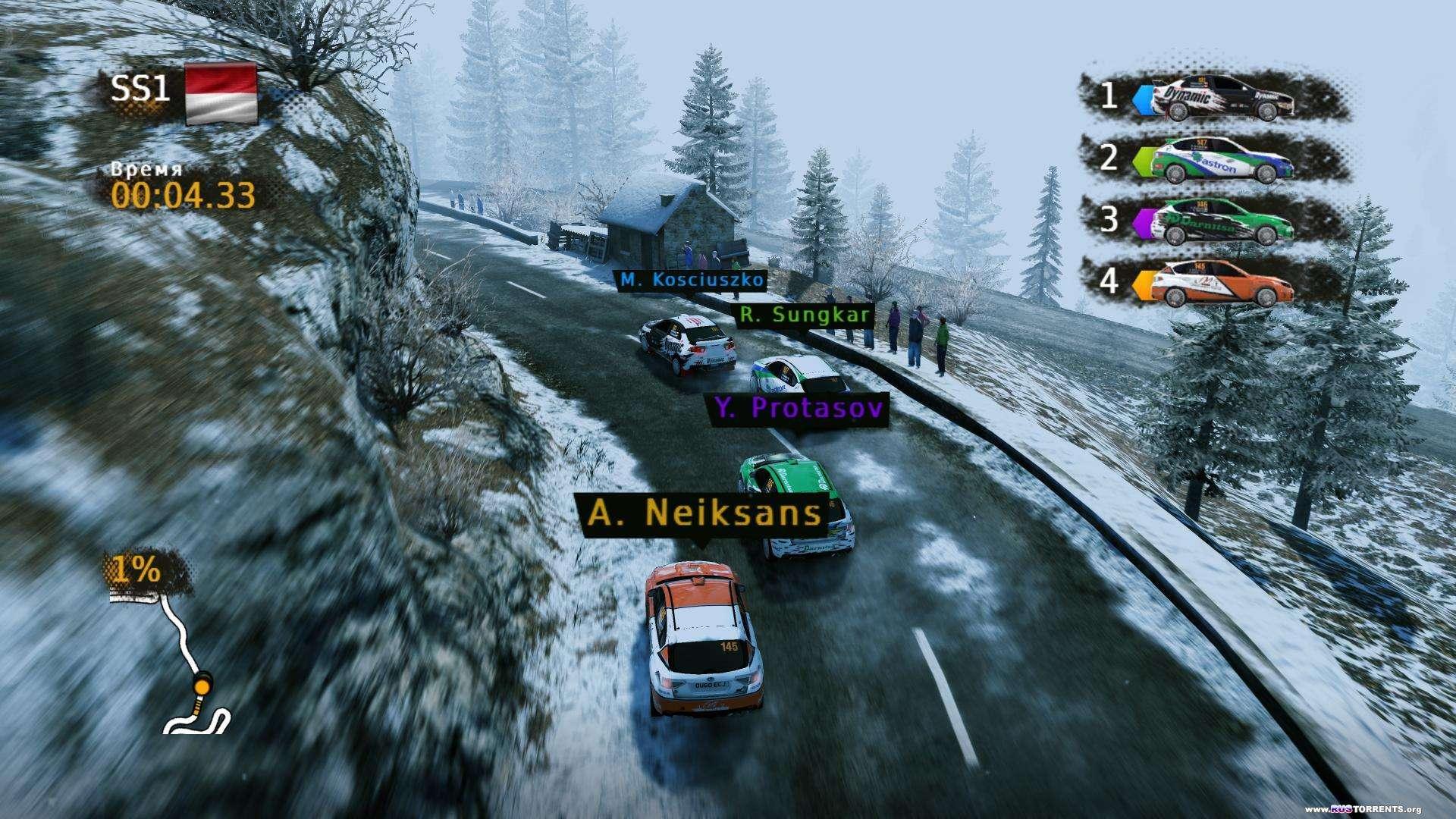 WRC Powerslide | PC | RePack от Brick