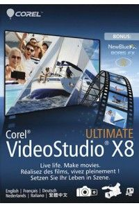 Corel VideoStudio Ultimate X8 18.0.0.181 (x64) + Content