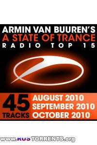 VA- A State Of Trance Radio Top 15 October September August 2010