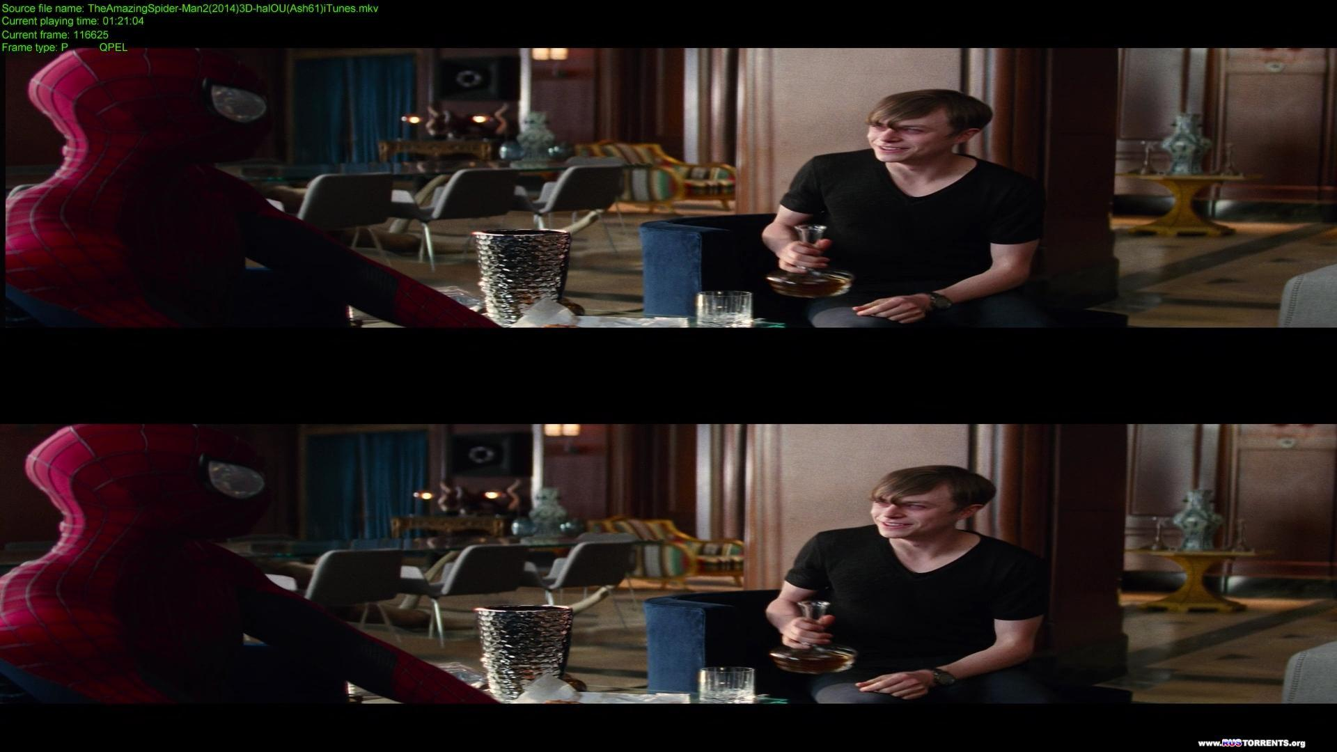 Новый Человек-паук: Высокое напряжение | BDRip 1080p | 3D-Video | halfOU | Лицензия