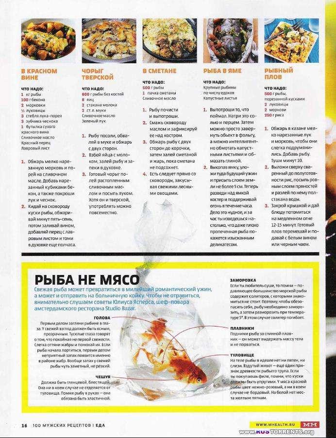 Men's Health Подшивка 50 номеров + Men's Health 100 мужских рецептов.
