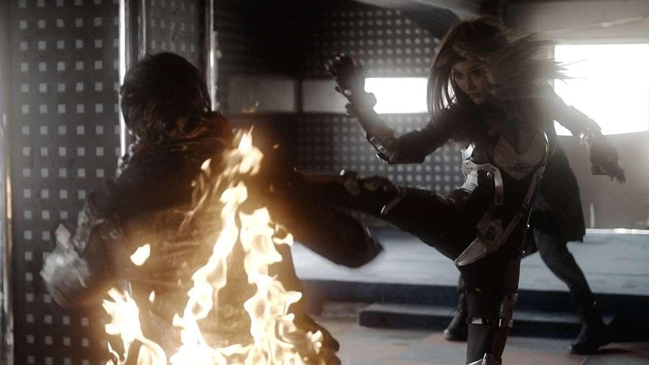 Железная девушка: убийственное оружие / iron girl: ultimate weapon (2015) bdrip 720p / hdrip. Скриншот №5
