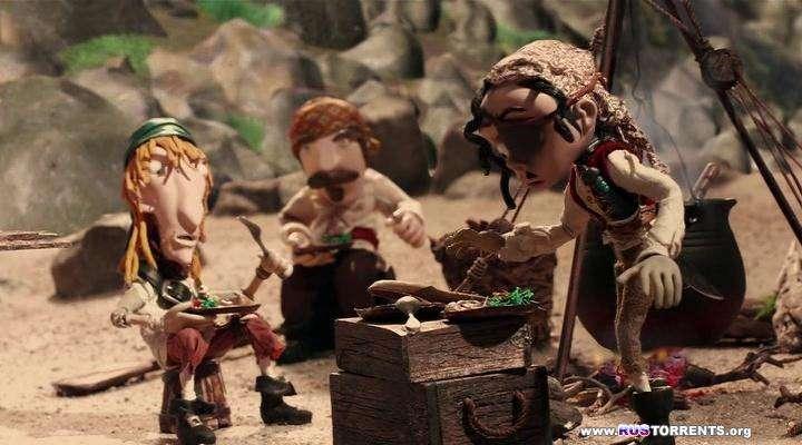 Робинзон Крузо: Предводитель пиратов | DVDRip | Лицензия
