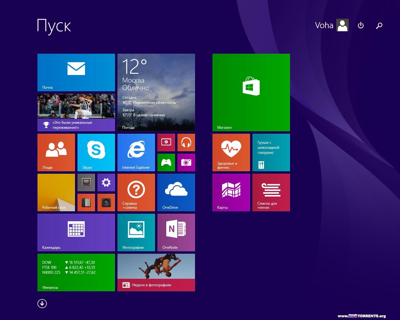 Windows 8.1 Enterprise With Update x64/x86 v.16.04/v.17.04 By DDGroup 8.04.2014 RUS