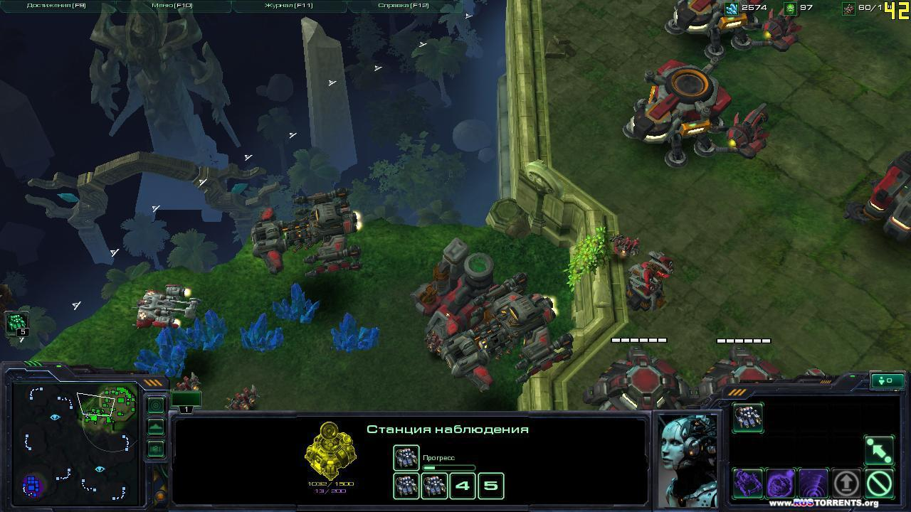 StarCraft 2 [LAN Multiplayer v.1.4.3] | PC | RePack от R.G.Packers