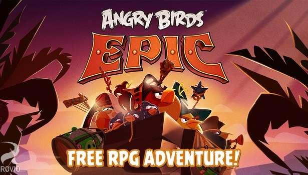 Angry Birds Epic v1.3.0 Para Hile Mod APK + DATA Indir