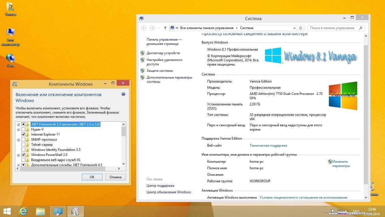 Windows 8.1 Pro Vannza & Microsoft Office 2013 SP1